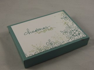 Box for Concertina Card