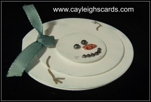 Melted Snowman Card