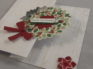 Wreath Flip Card